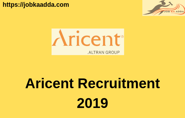 Aricent Recruitment 2019