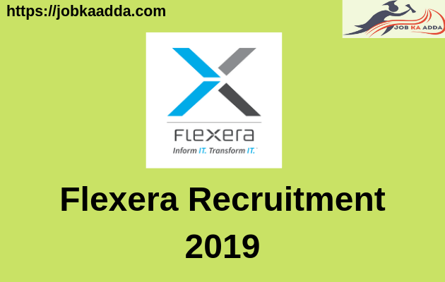Flexera Recruitment 2019