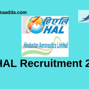 HAL Recruitment 2019