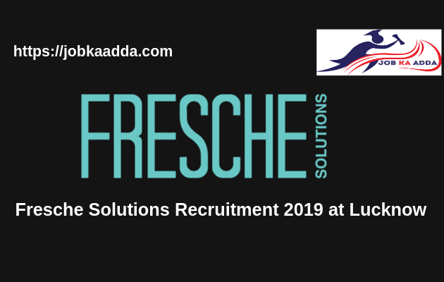 Fresche Solutions Recruitment 2019