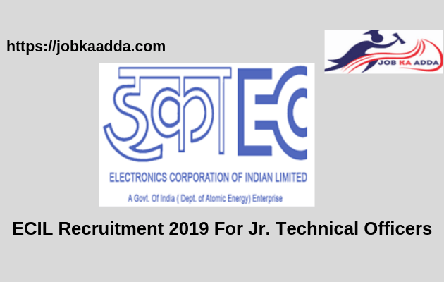 ECIL Recruitment 2019