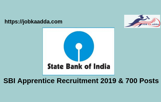 SBI Recruitment 2019 for Apprentice