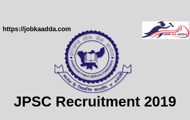 JPSC Recruitment 2019 for Assistant Engineer & 637 posts
