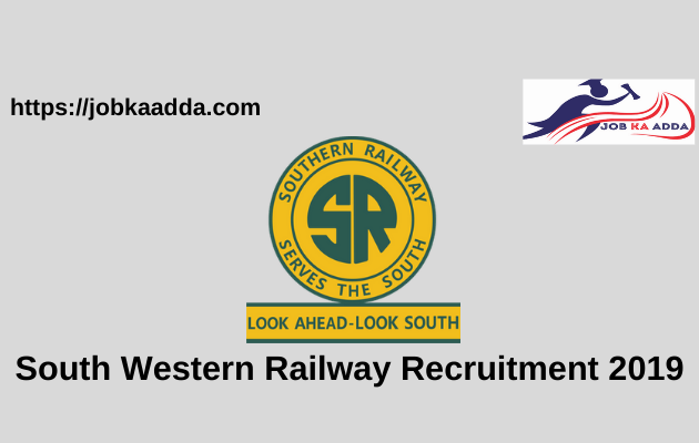 South Western Railway Recruitment 2019