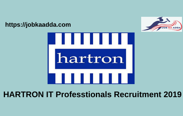 HARTRON IT Professtionals Recruitment 2019
