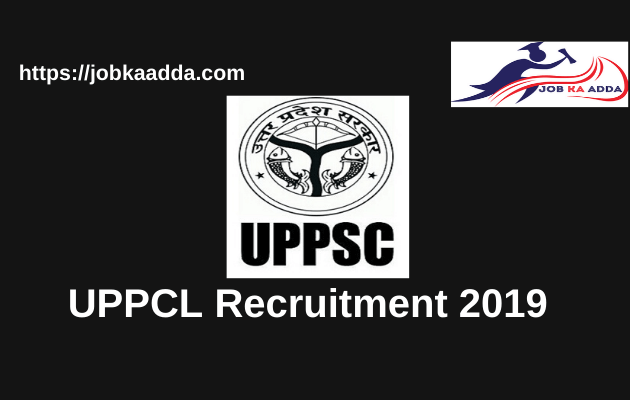 UPPCL Recruitment 2019 for Jr.Engineer Trainee
