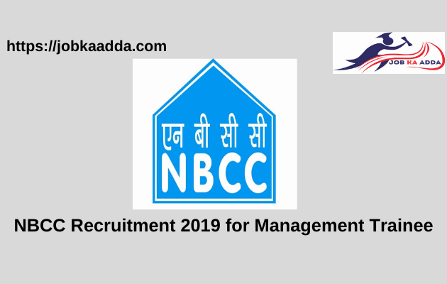 NBCC Recruitment 2019