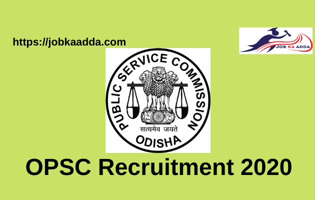 OPSC Recruitment 2020 for 606 Lecturer posts-
