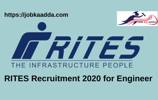RITES Recruitment 2020 for Engineer