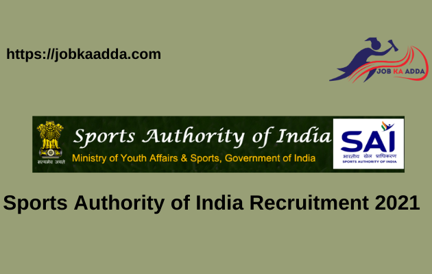 Sports Authority of India Recruitment 2021 for Coach/Asst Coach