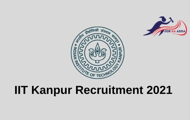 Recruitment in IIT Kanpur 2021