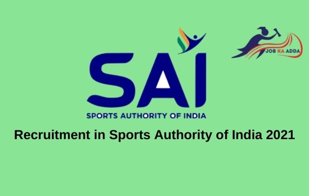 Recruitment in Sports Authority of India 2021 | Assistant Coaches | 220 Posts