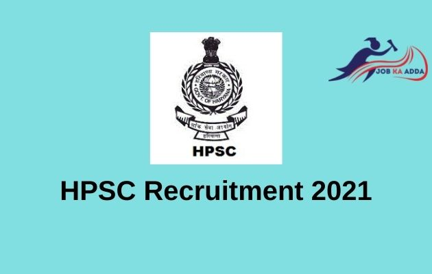 HPSC Recruitment 2021 | Agricultural Development Officer / Sub Divisional Agricultural Officer | 526 Posts