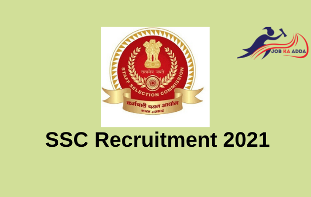 SSC Recruitment 2021 | Selection Posts (Phase-9) | 3261 posts